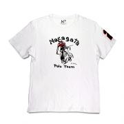 Camiseta Número Infantil Branca