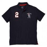 Camiseta Polo Infantil Número Azul