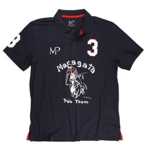 Camiseta Infantil Polo Jogador Azul